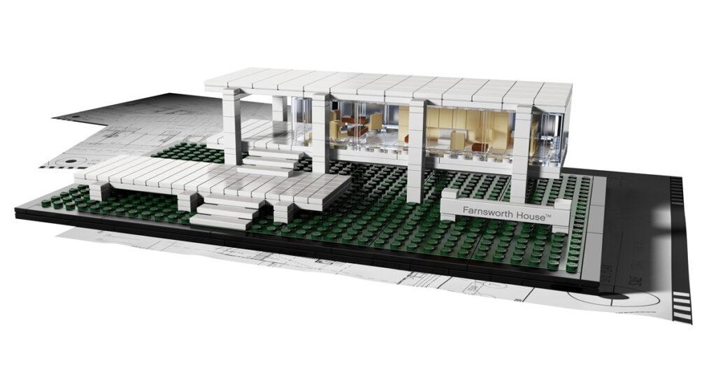 lego architecture pour les enfants et les architectes. Black Bedroom Furniture Sets. Home Design Ideas