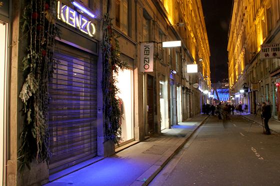Inauguration-4-décembre-2013---Démonstrateur-éclairage-commerce,-rue-ancienne-Préfecture,-Lyon,-France---Photo1-Vincent-Laganier