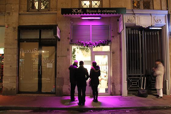 Inauguration-4-décembre-2013---Démonstrateur-éclairage-commerce,-rue-ancienne-Préfecture,-Lyon,-France---Photo2-Vincent-Laganier