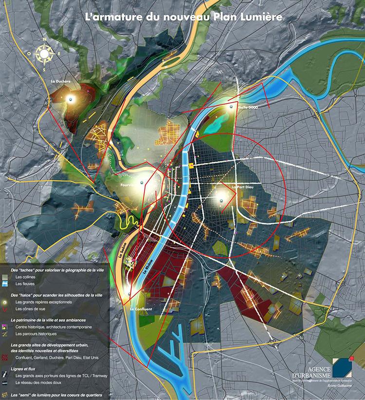 Aa hors s rie lumi res d 39 aujourd 39 hui et les architectes for Agence paysage lyon