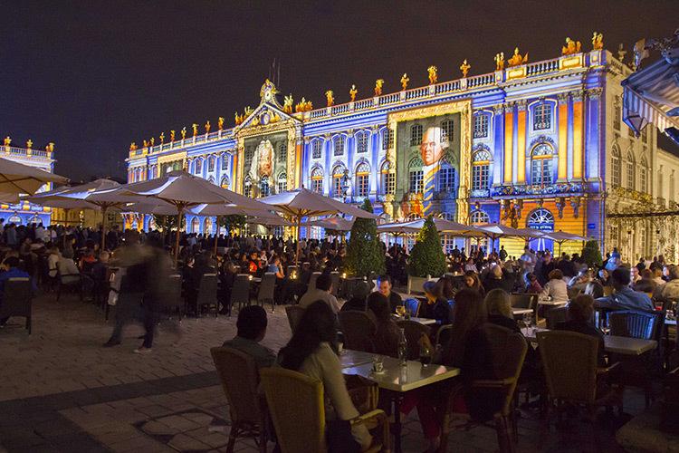 Rendez-vous de la place Stanislas, Nancy, France, 2013 - Création d'images : Spectaculaires - Photo : Ville de Nancy
