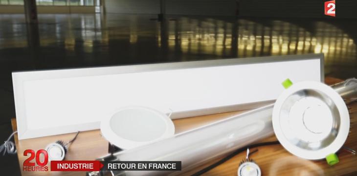 Matériels d'éclairage fabriqués en France