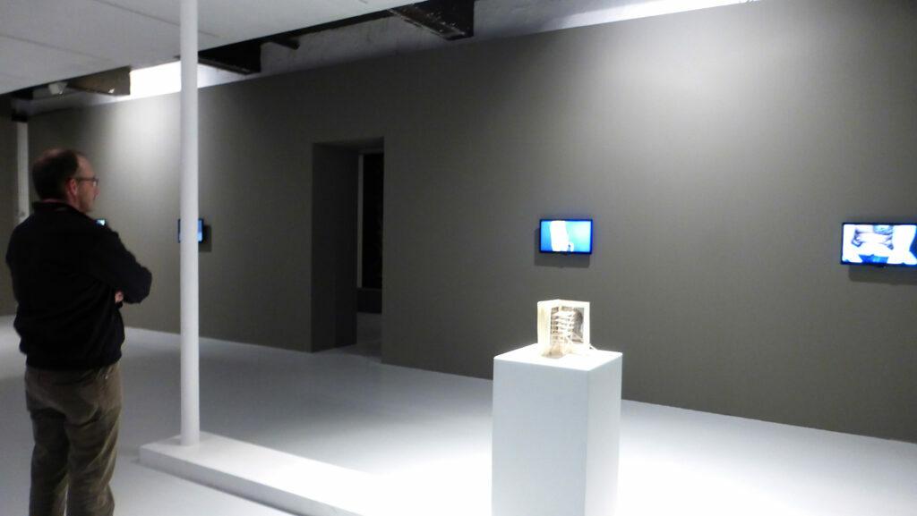 Guillaume Pinard, Biorythme, 2015 et La Maison de Rubens, 2013 - Un trou dans le décor - Le Quartier, Quimper, France - Photo Vincent Laganier