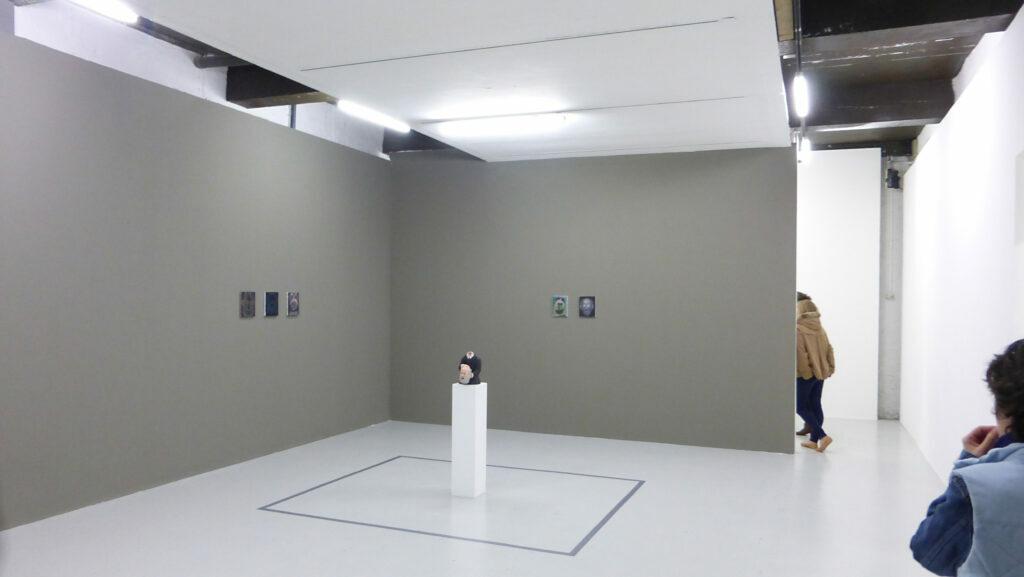 Guillaume Pinard, Les Métamorphoses de Yan' Dargent, 2015 - Un trou dans le décor - Le Quartier, Quimper, France - Photo Vincent Laganier