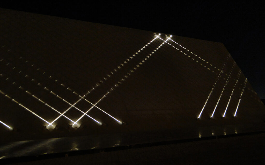 Pavillon Al Zorah, Ajman, UAE - Architectes Annabel Karim Kassar - Conception lumiere et photo Cai Light