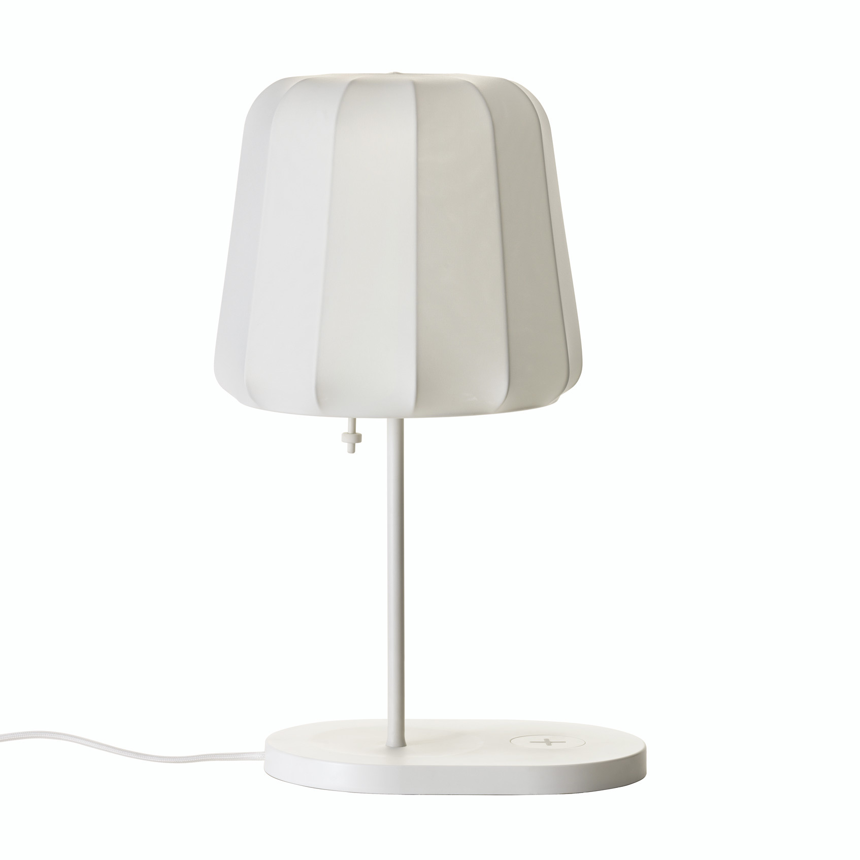 Ikea se lance dans le rechargement sans fil light zoom for Lampe de table rona