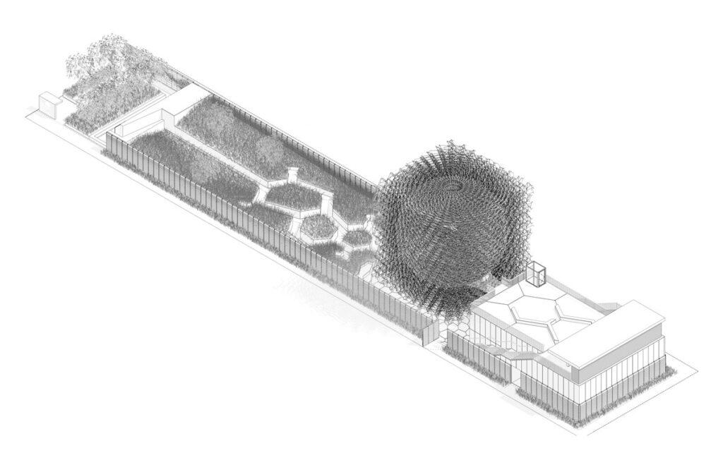 Expo 2015, UK Pavilion, Milan, Italy - Axonometry - Architectes BDP Artist Wolfgang Buttress - Copyright BDP