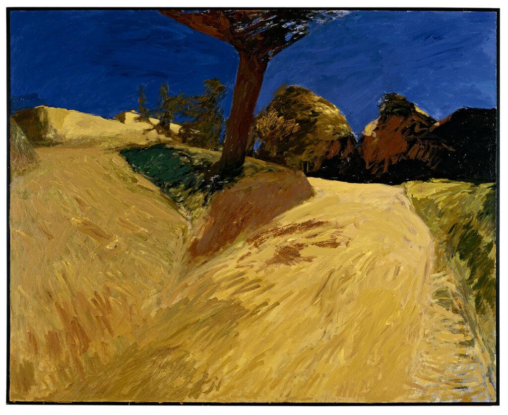 Patrice-Giorda, Les deux chemins, 2ème version, La promenade, no5, 160 x 200 cm © Georges Poncet