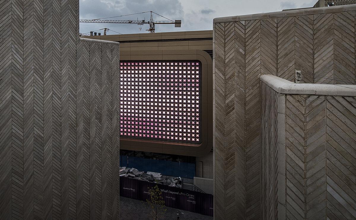 Vue d'une découverte - Souk Entertainment Center, Beyrouth, Liban - Architecte Valode et Pistre - Concepteur lumière et photo Cai Light