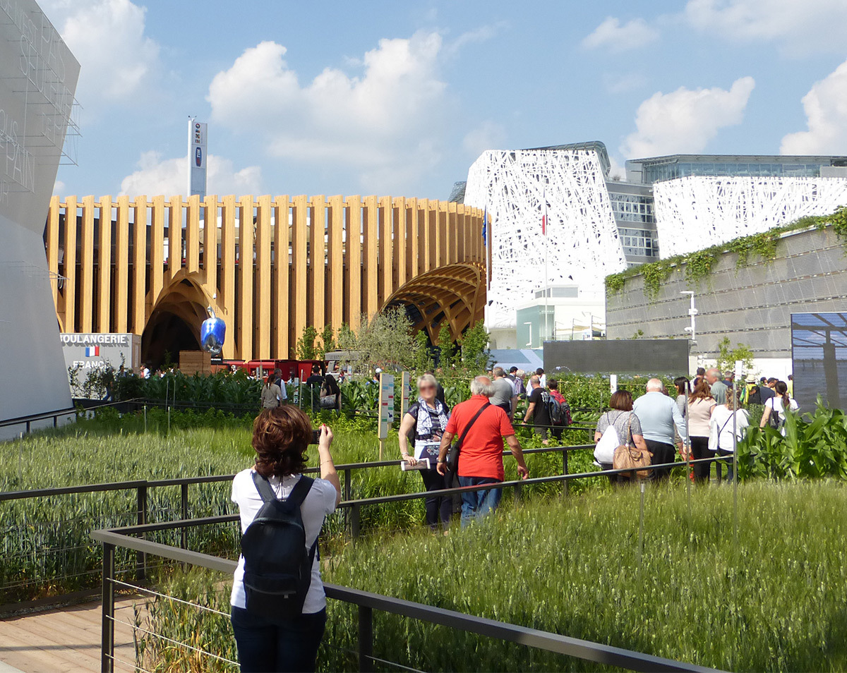expo 2015 france un march couvert r interpr t light