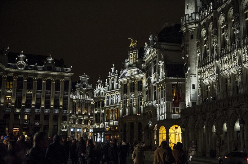 Grand-Place de Bruxelles, Belgique - Conception lumière : Isabelle Corten, Radiance35 et Patrick Rimoux, Agence Patrick Rimoux - Photo : Jonathan Berger / BRG