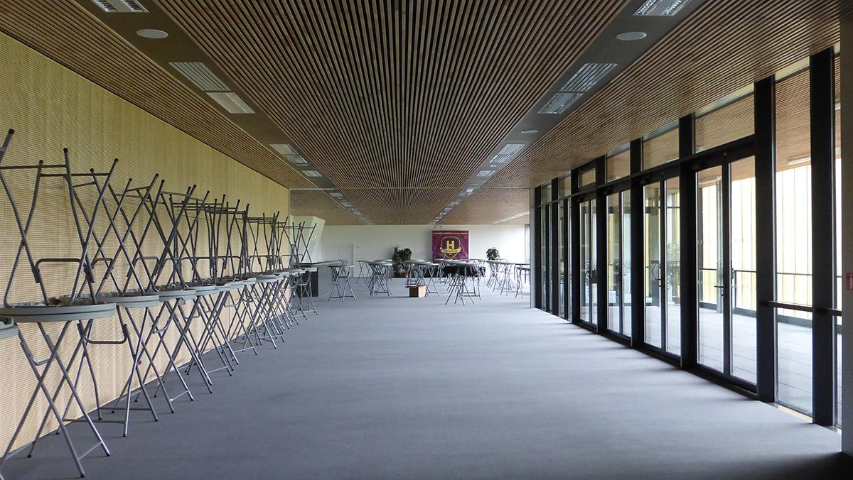 Espace VIP - Salle sportive métropolitaine de Nantes Métropole, Rezé, France - Architectes Chaix & Morel et Associés - Photo Vincent Laganier