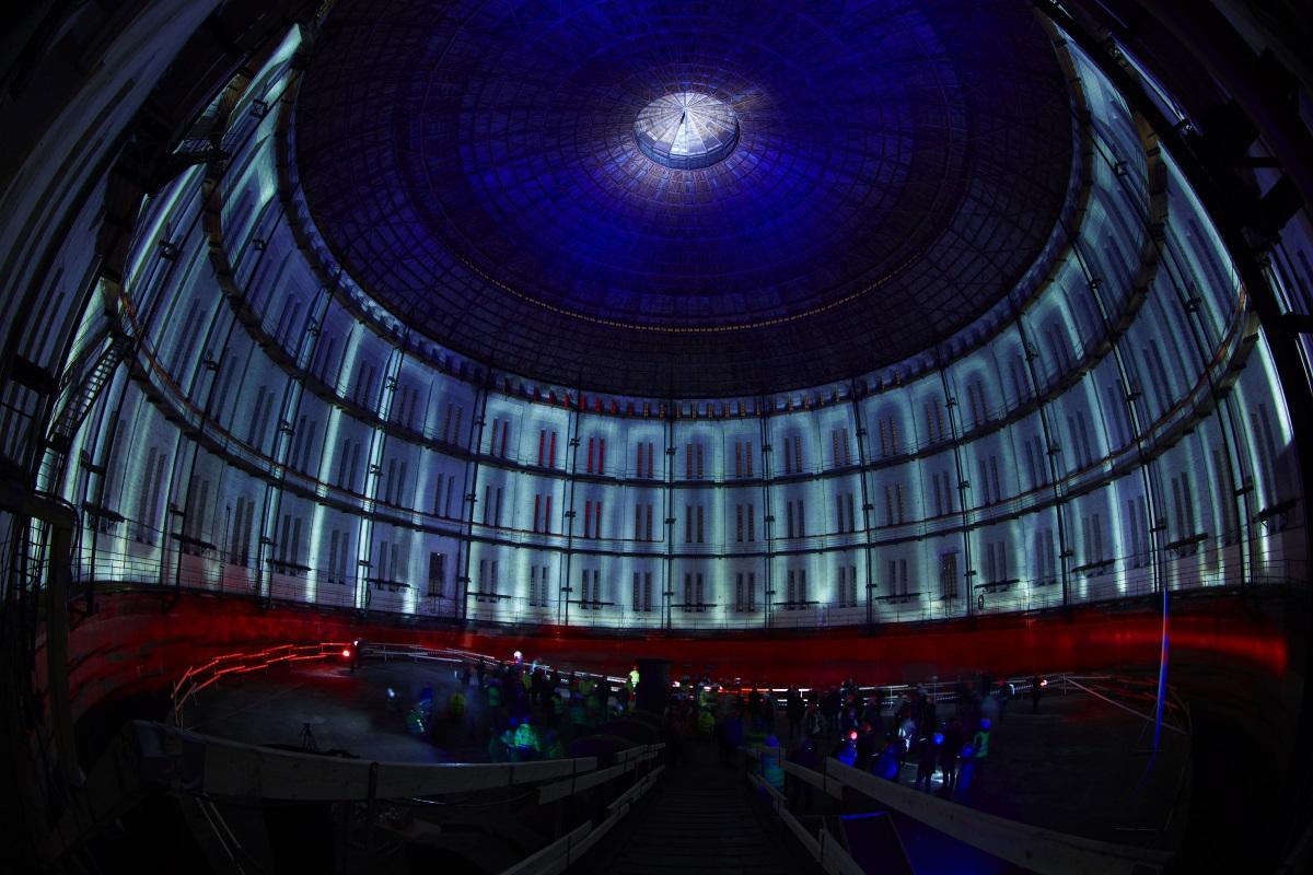 Gagnez un relooking de votre éclairage - Guerrilla Lighting à Norra Djursgårdsstaden, Stockholm, Suède - Conception lumière et photo : ÅF Lighting