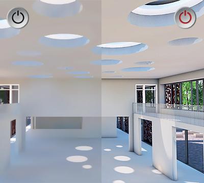 Occlusion ambiante avec Allplan Architecture, logiciel BIM © Nemetschek