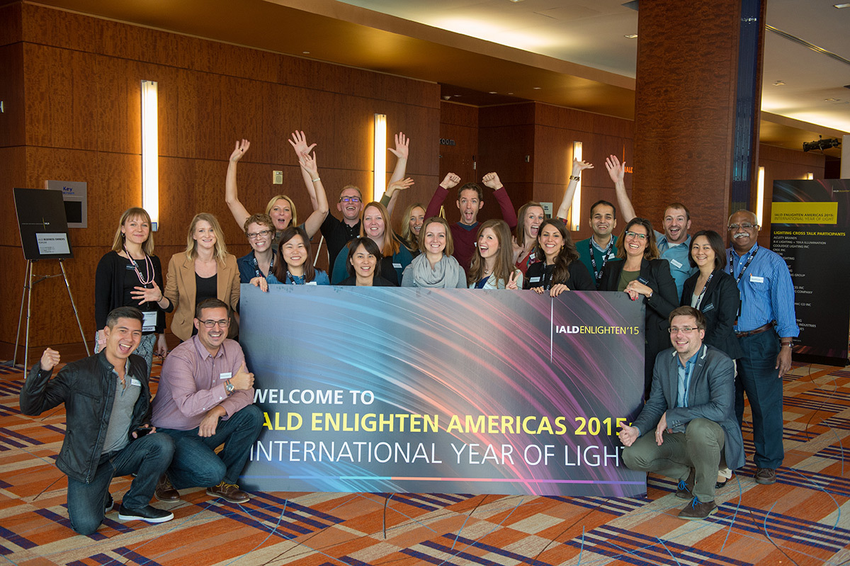 Conférence IALD Enlighten Americas 2015, Baltimore, USA © International Association of Lighting Designers, IALD, 2015