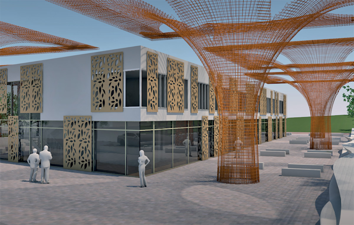 Demo projet avec Allplan Architecture, logiciel BIM © Nemetschek