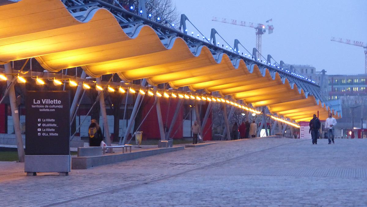 Parc De La Villette Mise En Lumi 232 Re 25 Ans Apr 232 S Paris