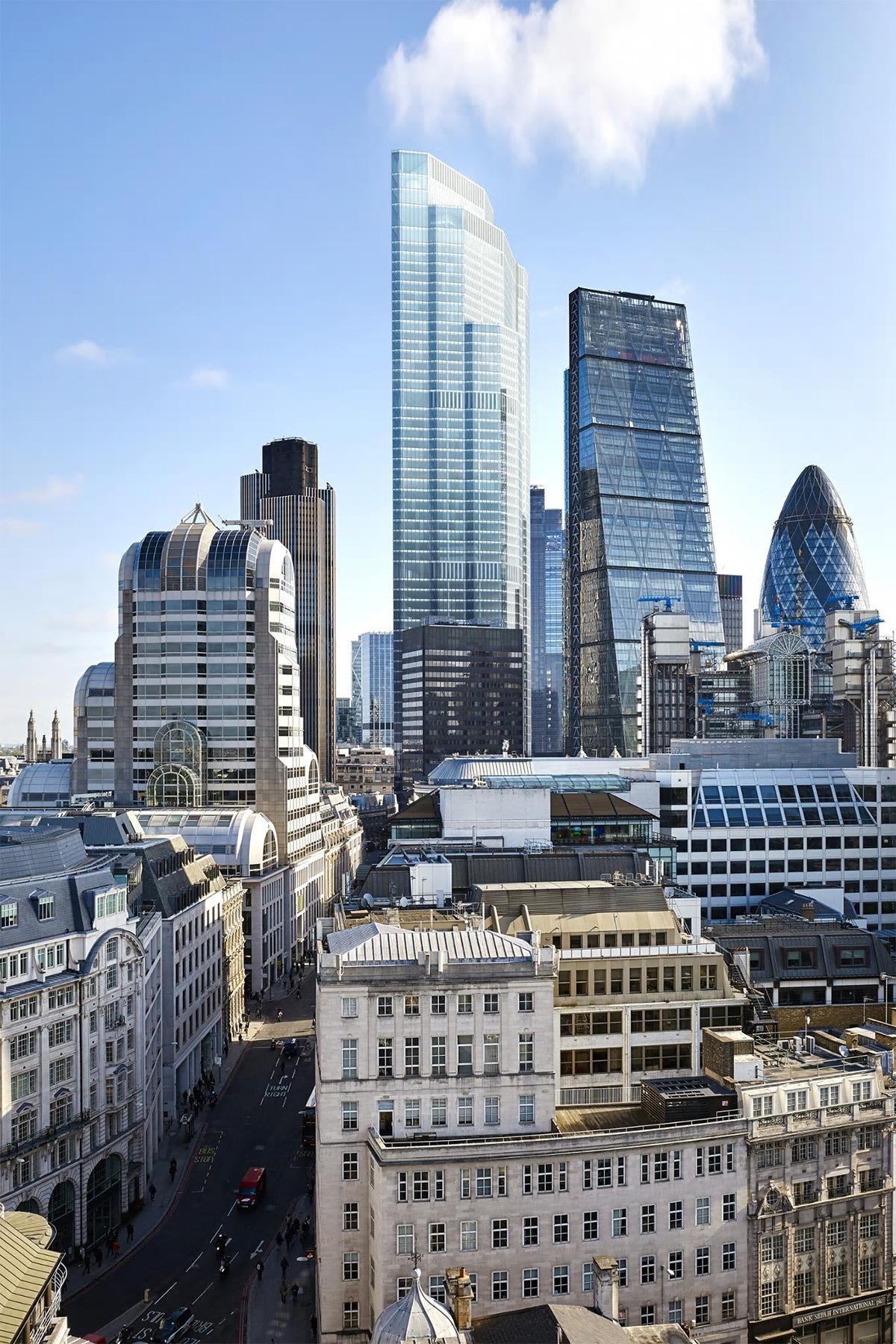 22 Bishopsgate, Londres - Skyline - PLP Architecture - Photo : Hayes Davidson