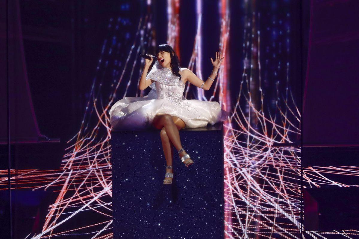 Australie, Dami Im, Eurovision 2016, Stockholm Globe Arenas, Suede © Andres Putting (EBU)