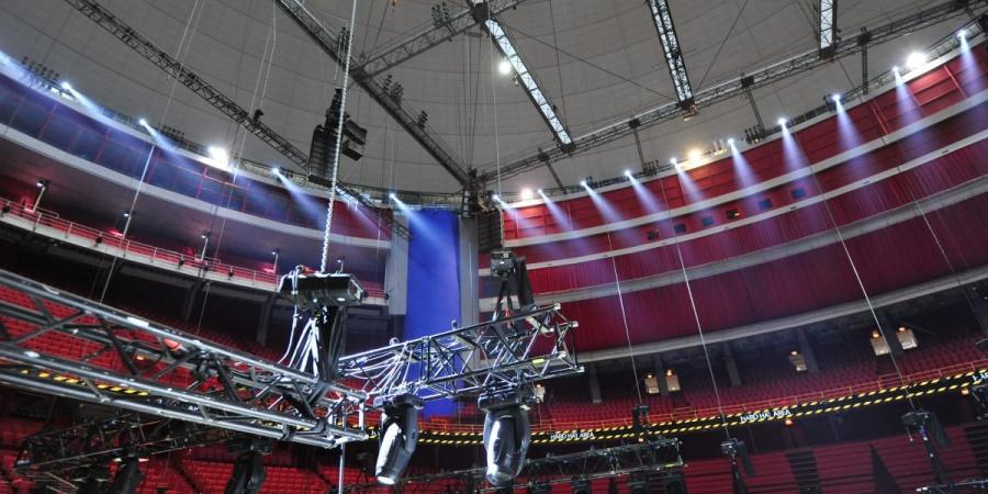 Montage Eurovision 2016, Stockholm Globe Arenas, Suede © M & M Production - Eurovisionworld.com