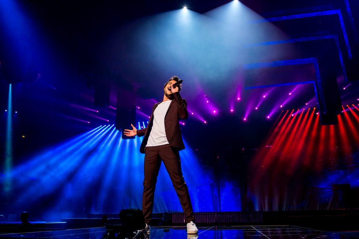 France, Amir, Eurovision 2016, Stockholm Globe Arenas, Suede © Anna Velikova (EBU) (3)