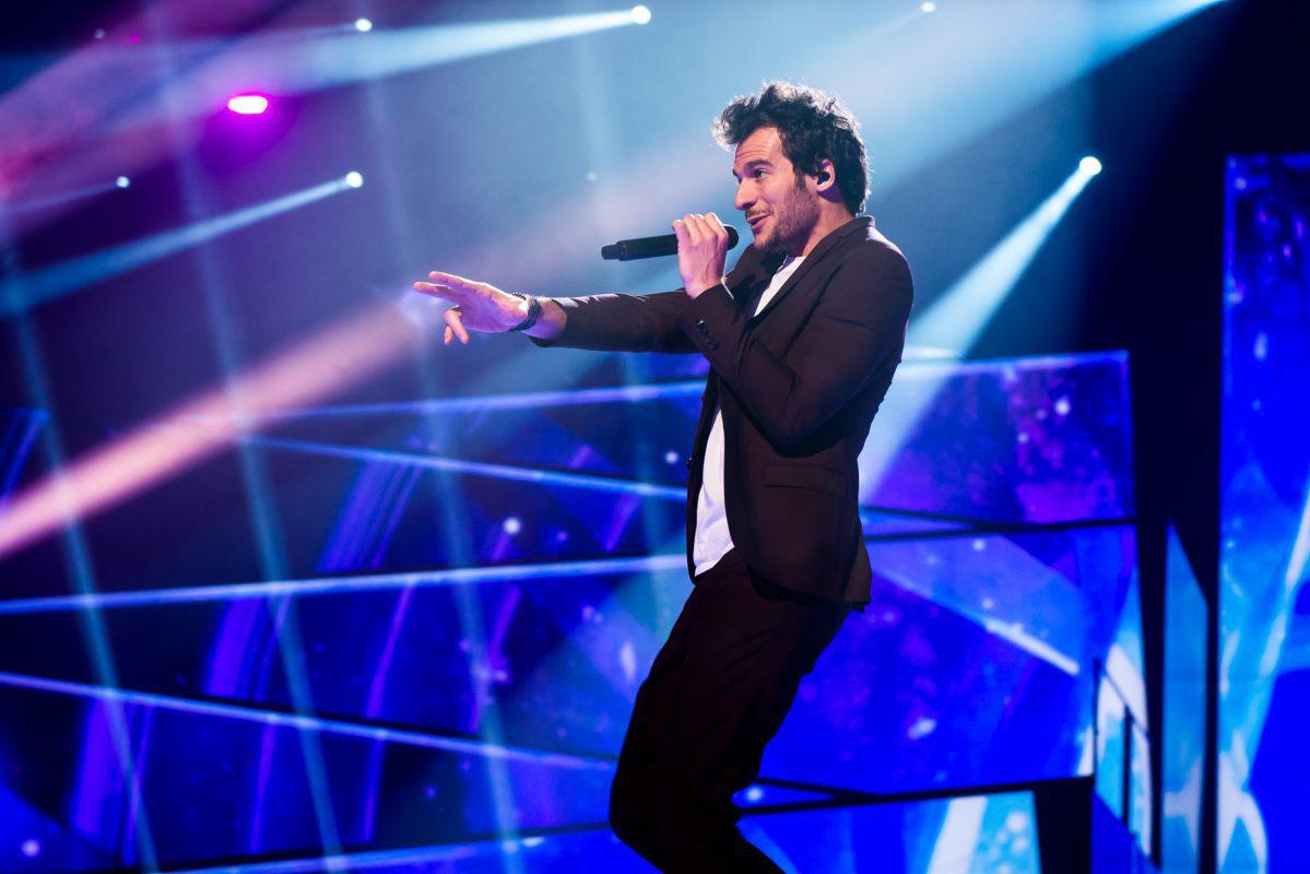 France, Amir, Eurovision 2016, Stockholm Globe Arenas, Suede © Anna Velikova (EBU)
