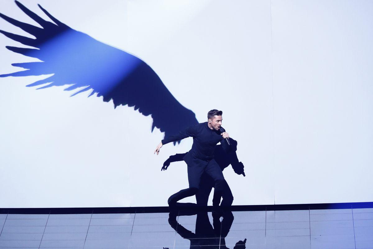 Russie, Sergey Lazarev, Eurovision 2016, Stockholm Globe Arenas, Suede © Andres Putting (EBU)