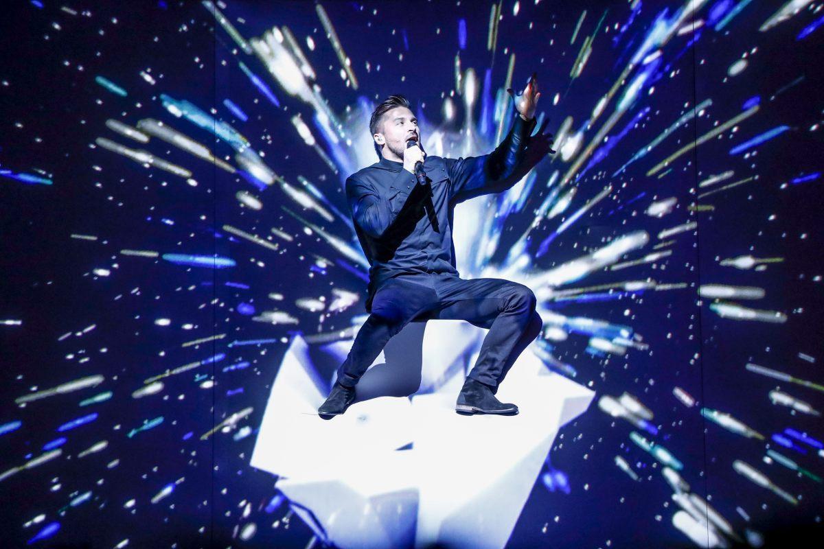 Russie, Sergey Lazarev, Eurovision 2016, Stockholm Globe Arenas, Suède © Anna Velikova (EBU)
