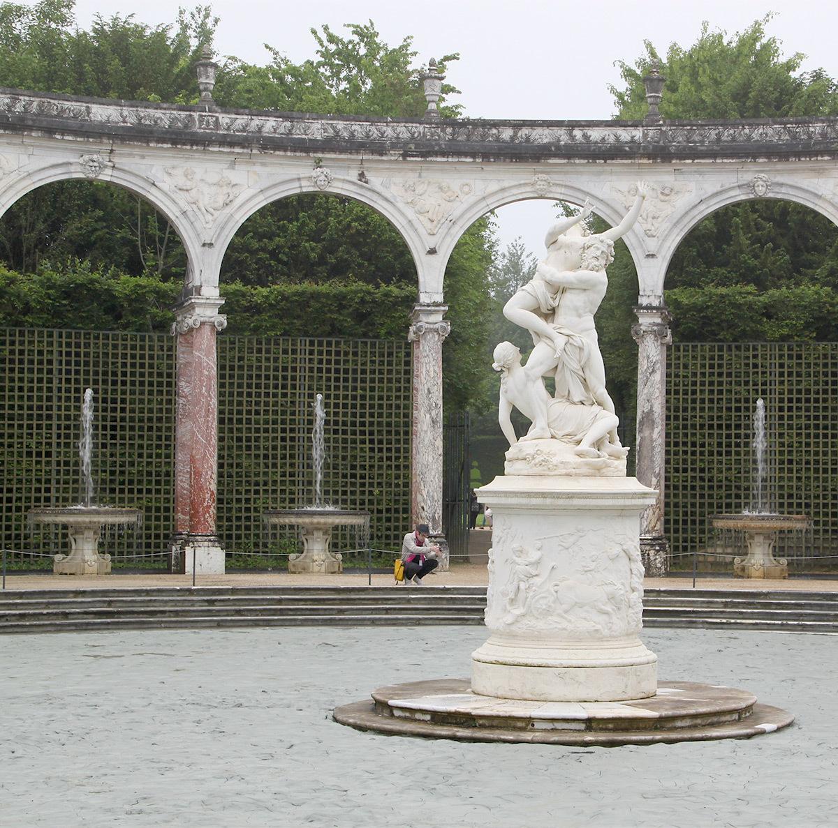 Glacial Rock Floor Garden Aux Jardins De Versailles L 39 Eau