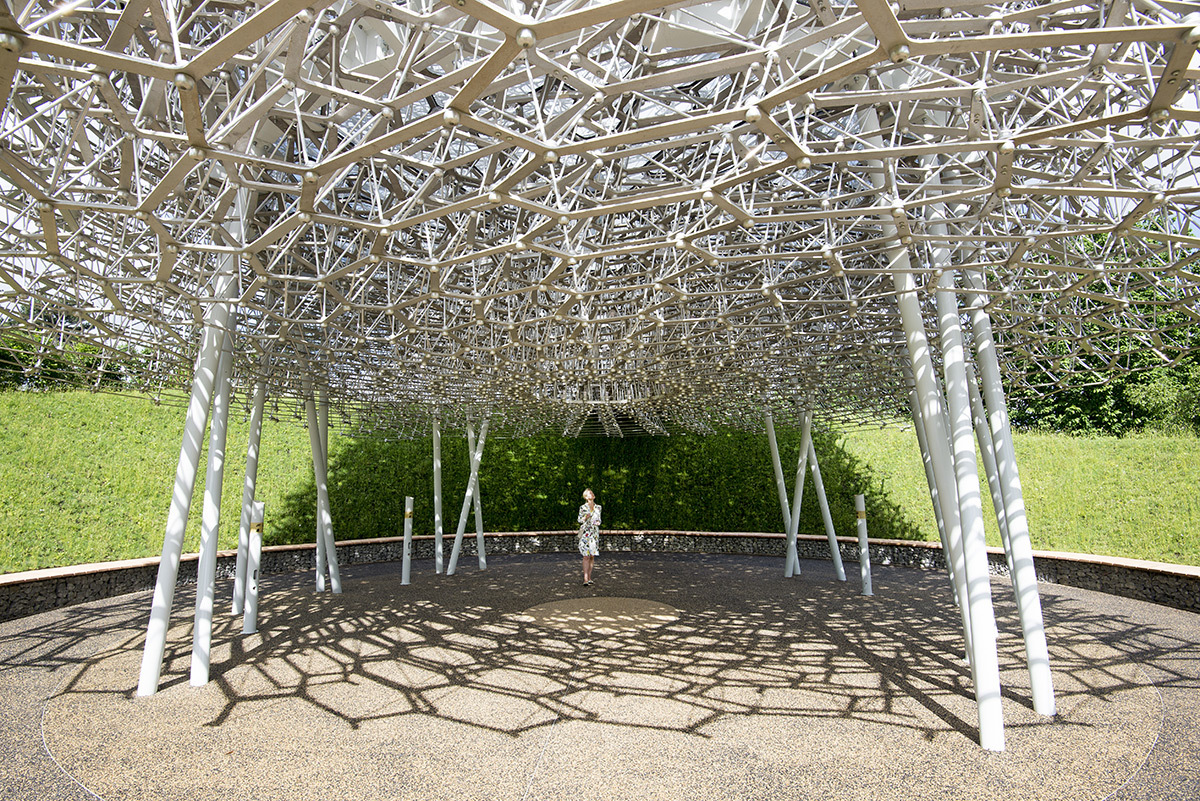 The Hive at Kew Gardens, UK - Artiste : Wolfgang Buttress - Photo Jeff Eden, RBG Kew