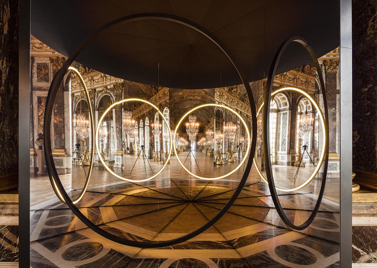 Your Sense of Unity, Olafur Eliasson, 2016 - Galerie des Glaces, château de Versailles, France - Photo : Anders Sune Berg