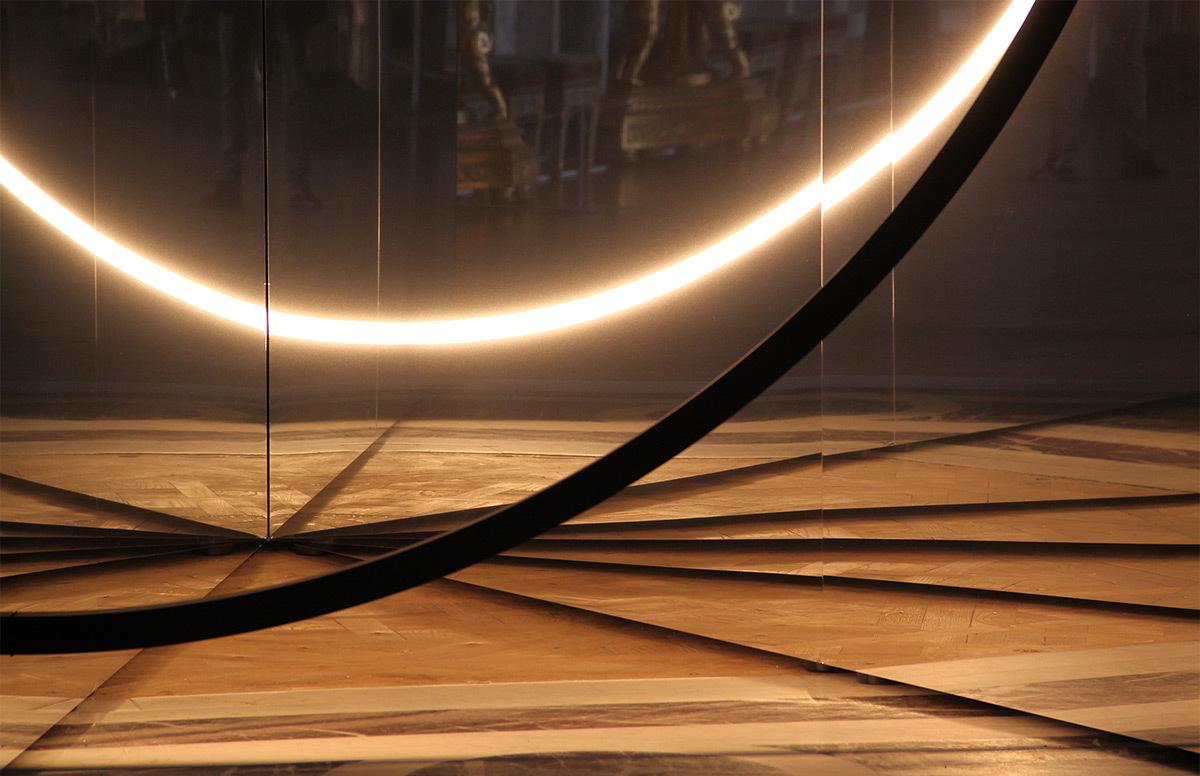 Your Sense of Unity, Olafur Eliasson, 2016 - Galerie des Glaces, château de Versailles, France - Photo : Vincent Laganier