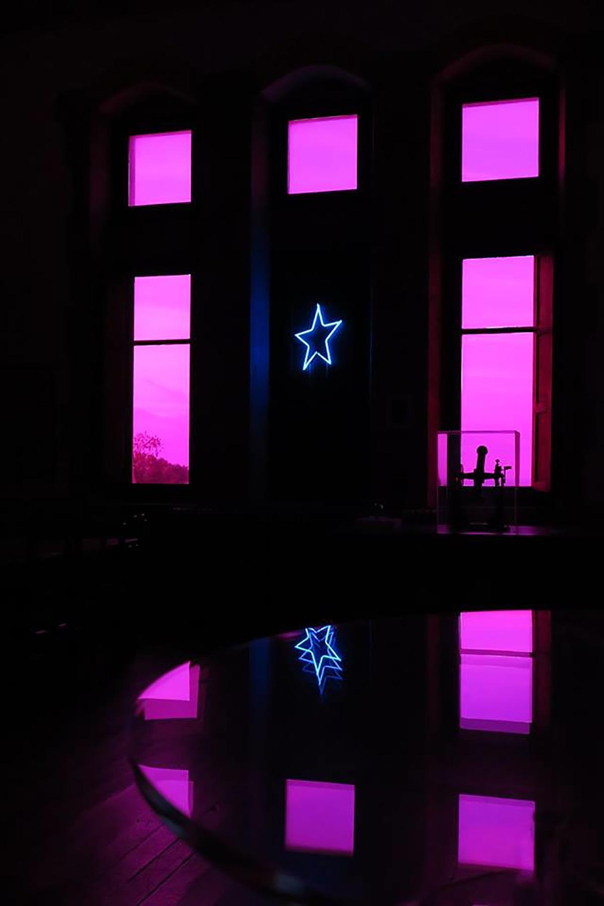 Argia, de Eric Michel - Château-Observatoire Abbadia, Hendaye, France - Perceptions 3, explorations sensibles 2016 - Photo : Céline Davadan