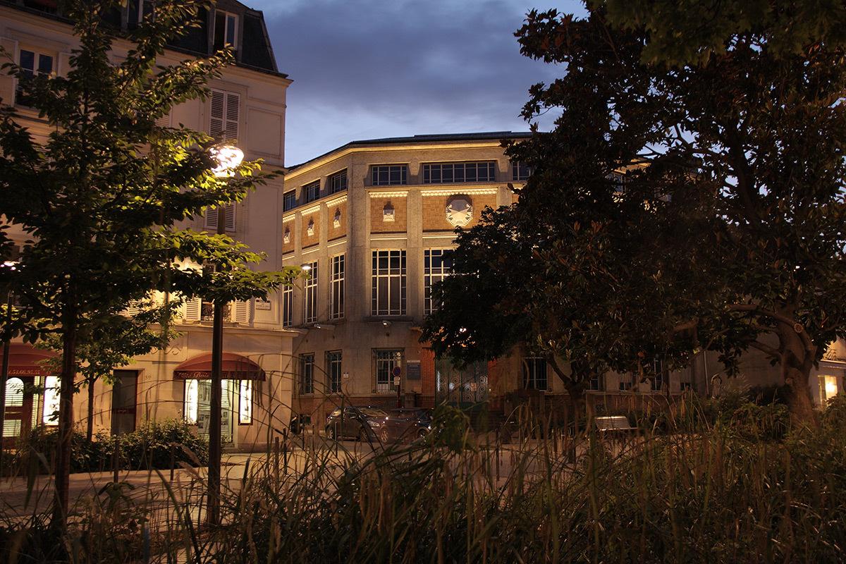 Maison des Associations, Vincennes - Concepteur lumière et photo Atelier S²