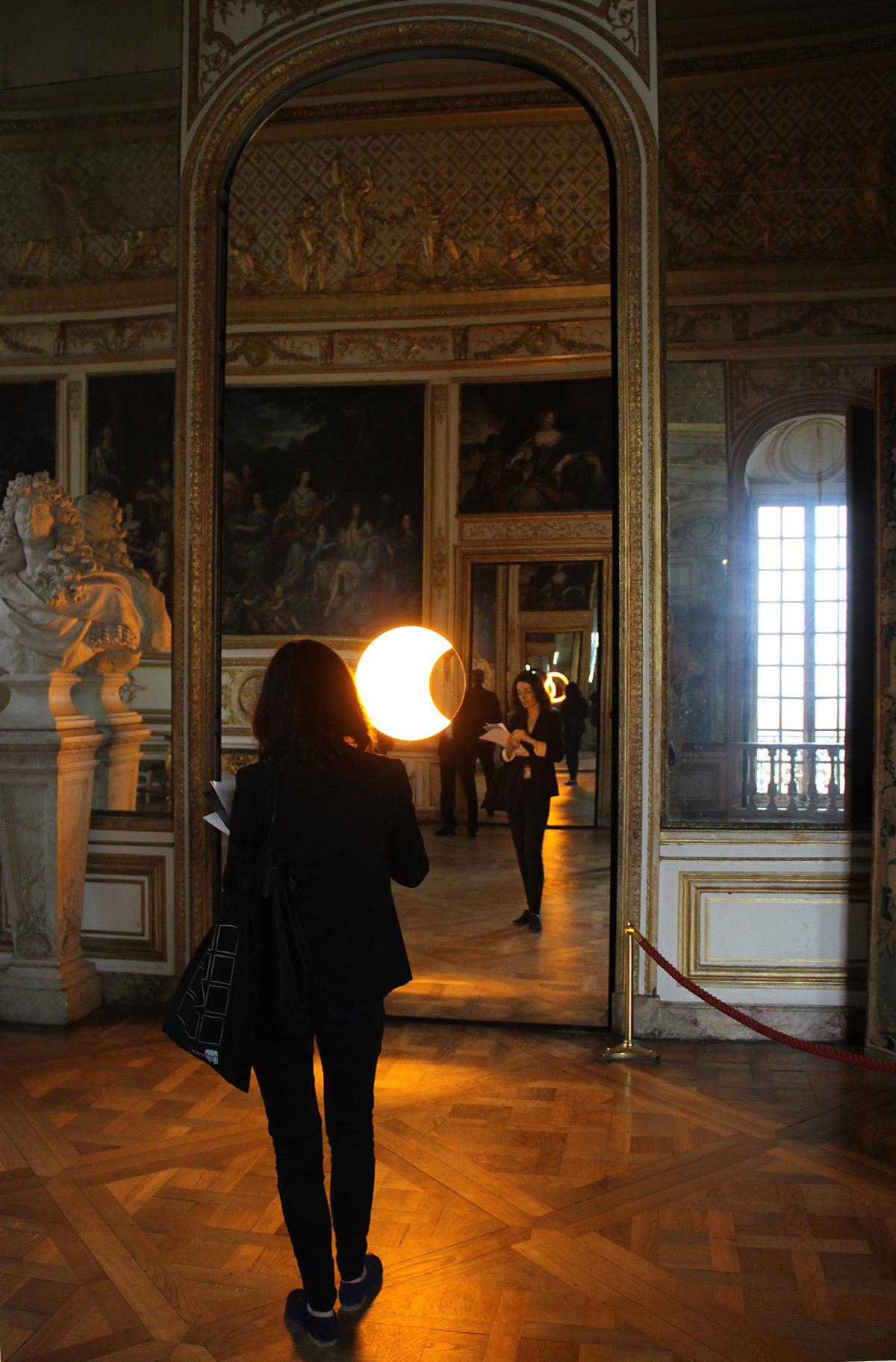Deep mirror yellow black et le soleil couchant au - Creperie passage des deux portes versailles ...