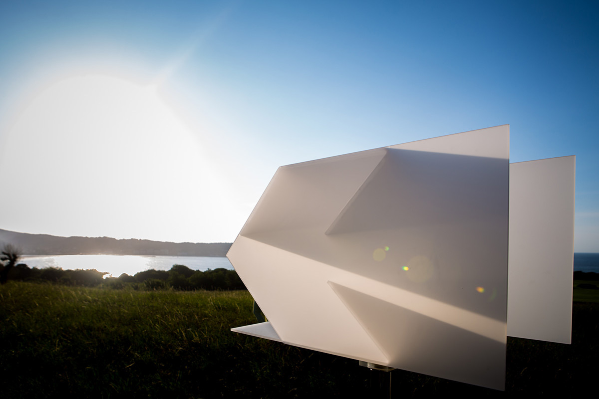 Re-Garder, de Juan Aizpitarte - Château-Observatoire Abbadia, Hendaye, France - Perceptions 3, explorations sensibles 2016 - Photo : Oscar Oliva