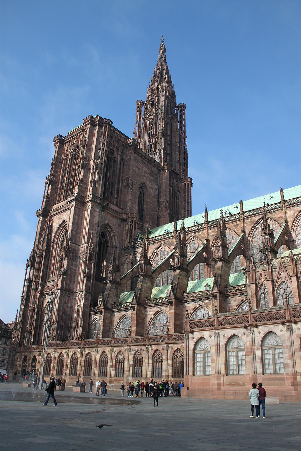 Cathédrale Notre Dame, Strasbourg, France - de jour © Vincent Laganier
