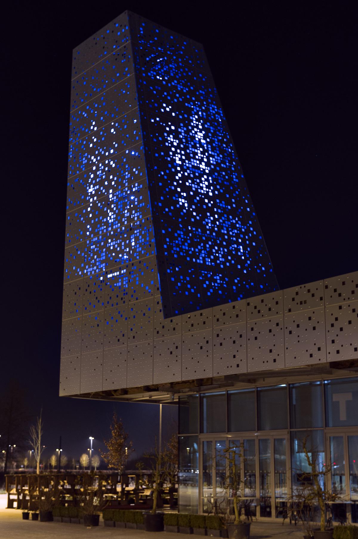 Eclairage dynamique du th tre s nart par l 39 atelier herv for Hotel design sud france