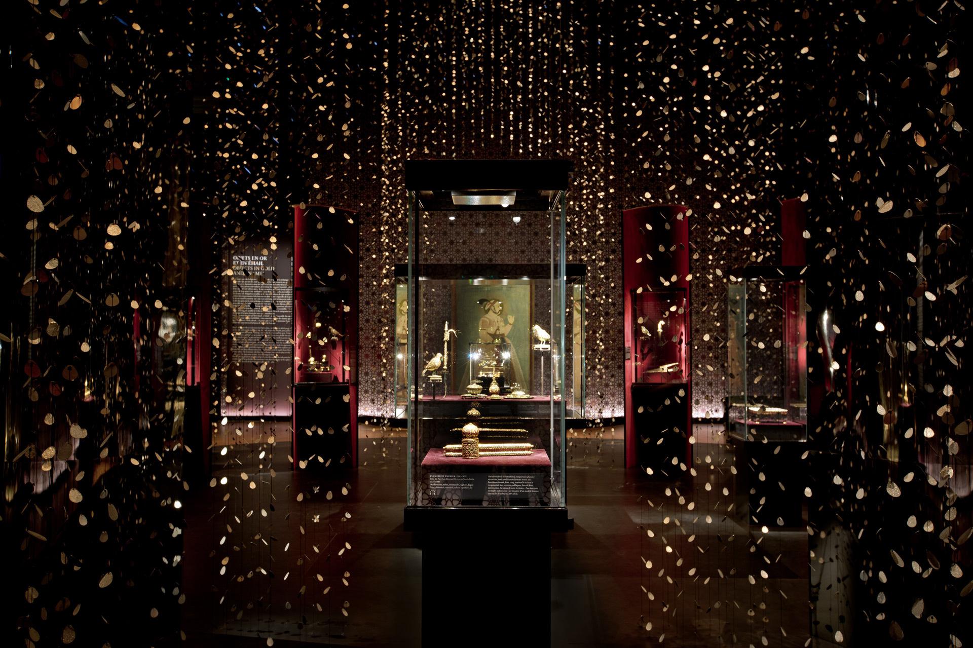 Conception lumière en éclairage intérieur dans une exposition