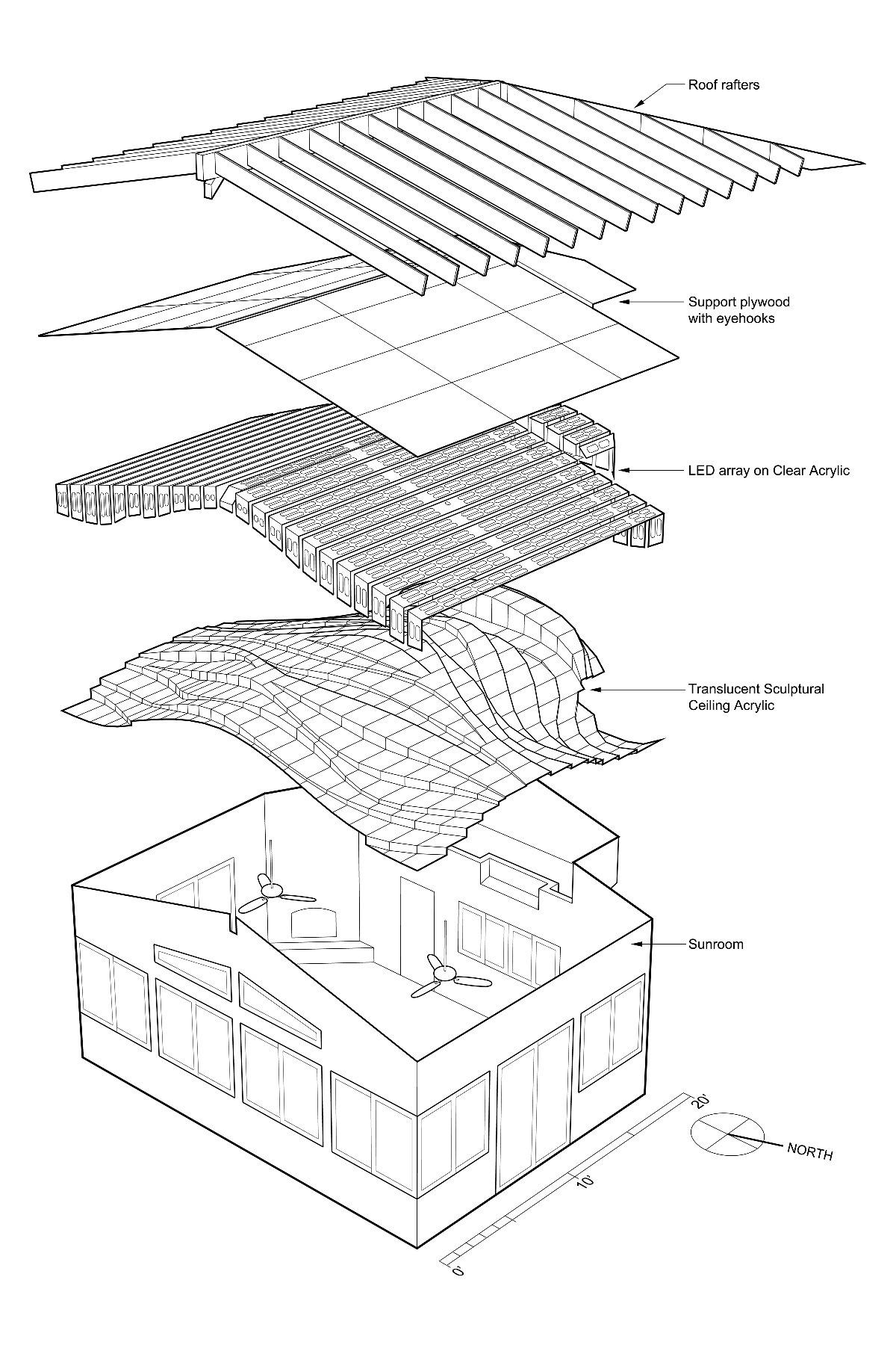 luminoth rapie en plafond fluide r tro clair de matt. Black Bedroom Furniture Sets. Home Design Ideas
