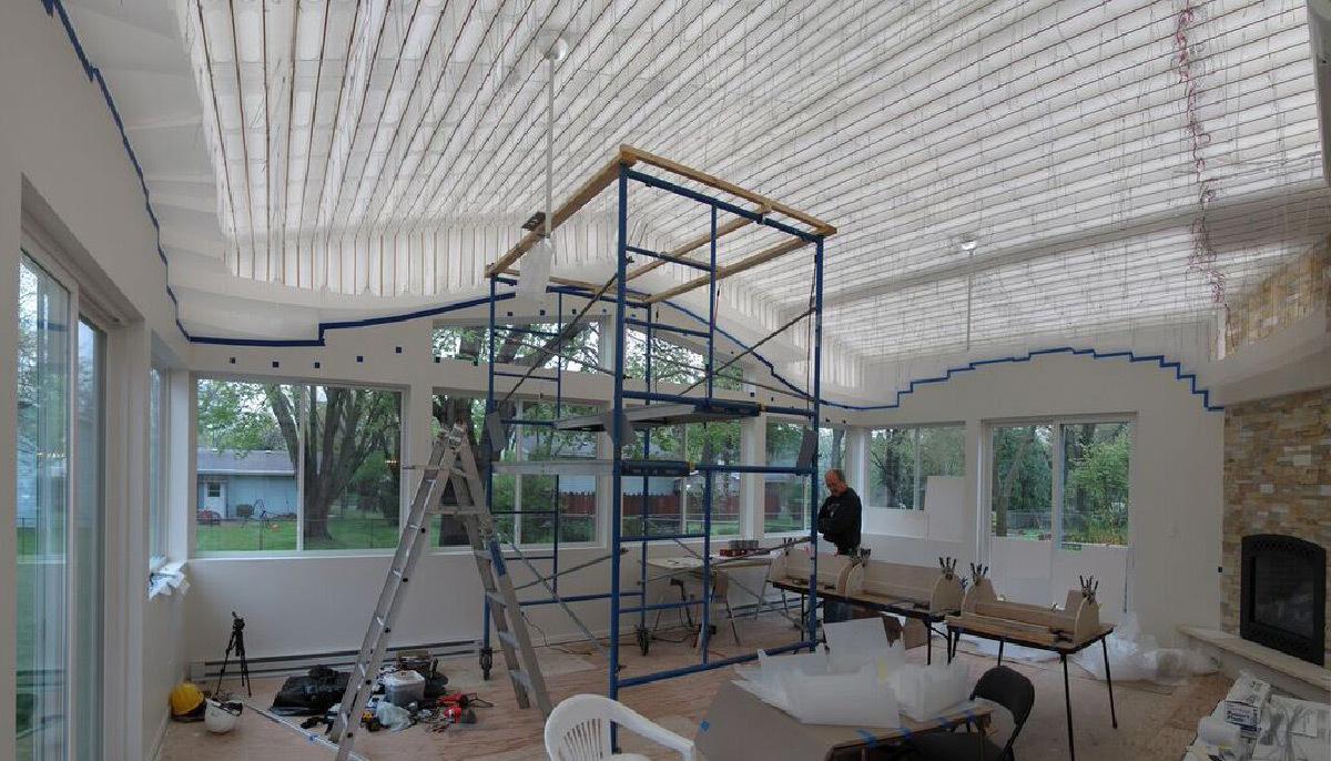eclairage led plafond maison free maison en bois en utilisant eclairage led plafond cuisine. Black Bedroom Furniture Sets. Home Design Ideas