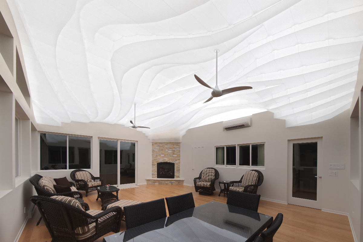 Luminoth rapie en plafond fluide r tro clair de matt for Architecture et design