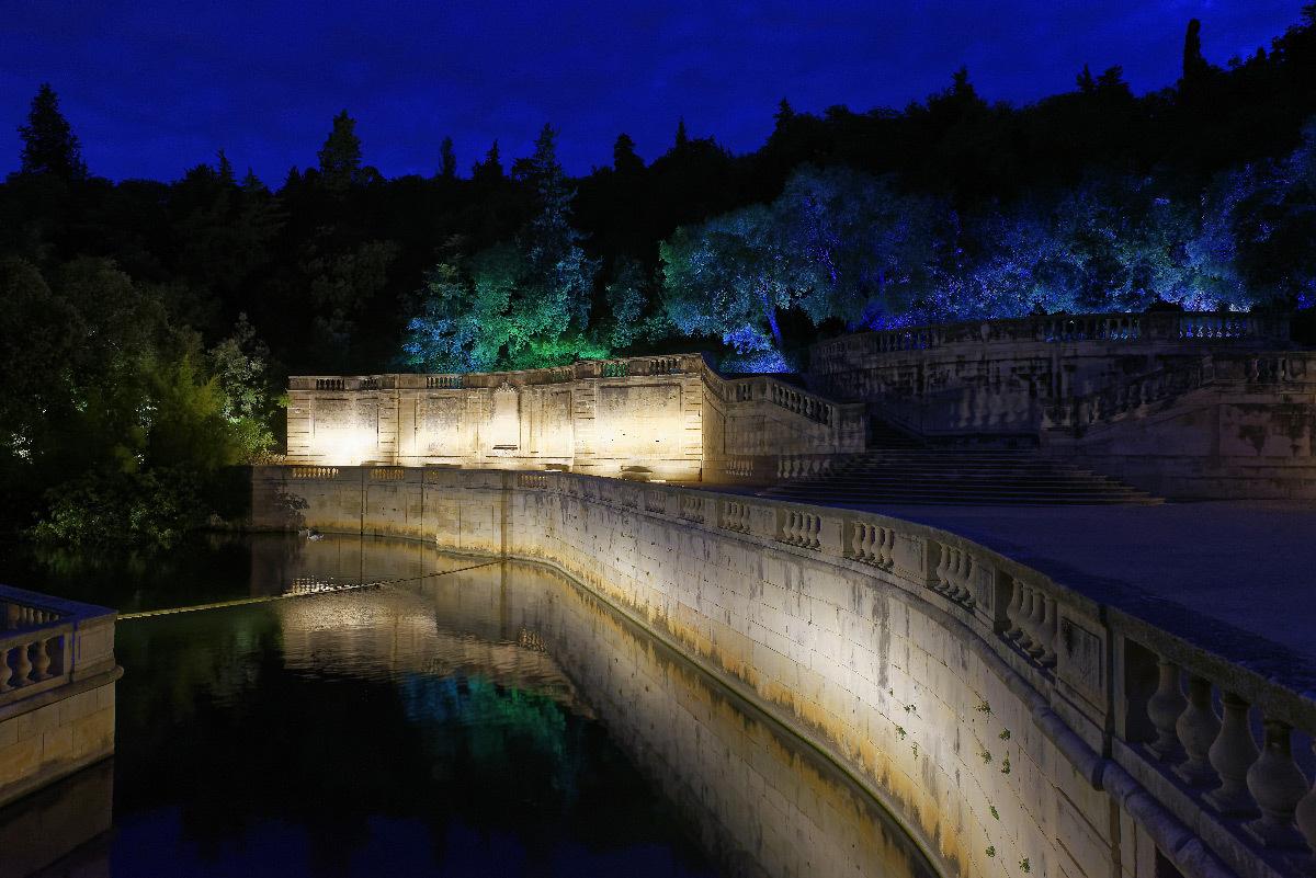 Concours Lumières 2018 : jardins de la fontaine, Nîmes ...