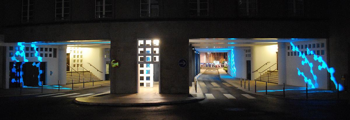 brest chru h pital morvan en lumi re architecturale light zoom lumi re portail de la. Black Bedroom Furniture Sets. Home Design Ideas